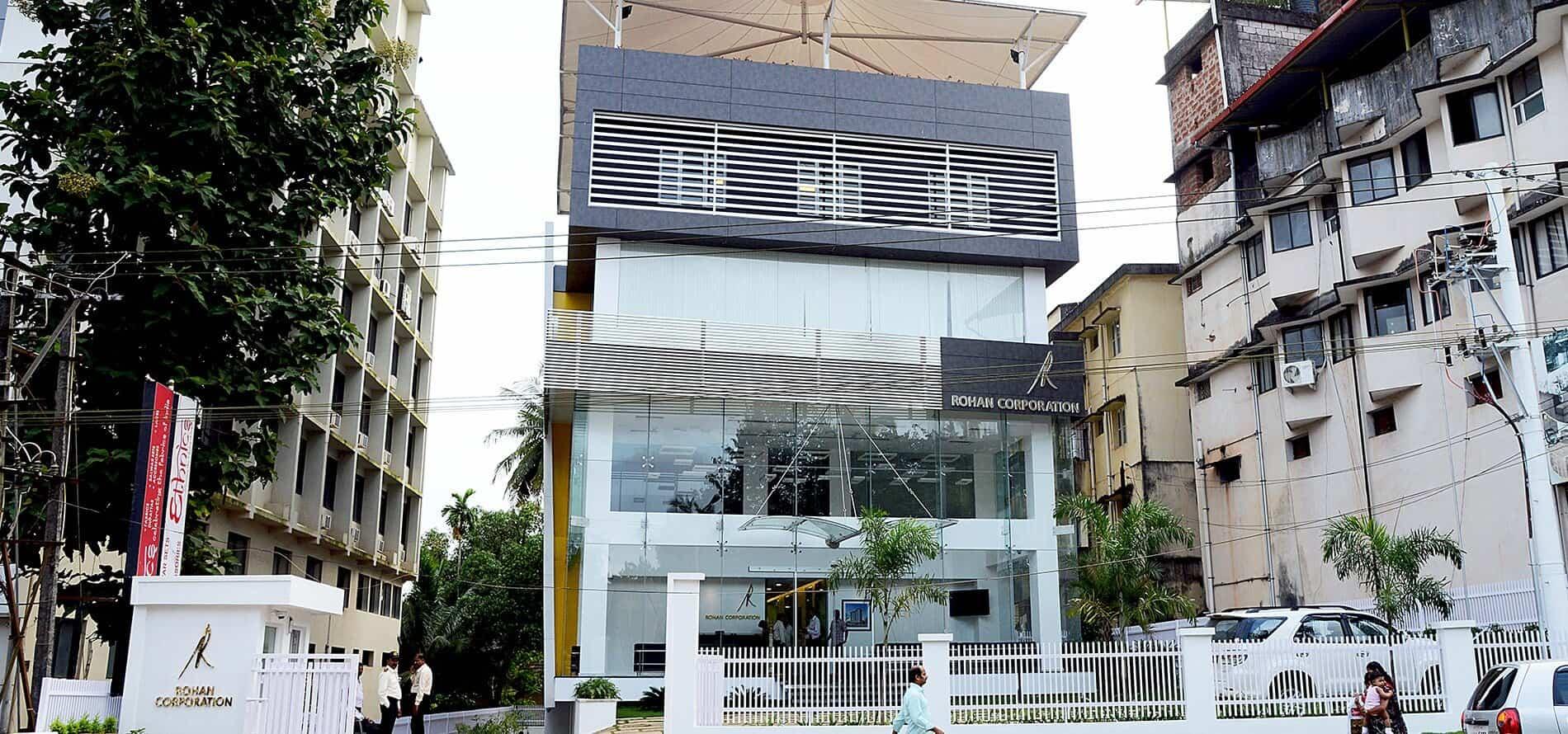 Rohan Corporation Office Guulshan Roy Architects Inc